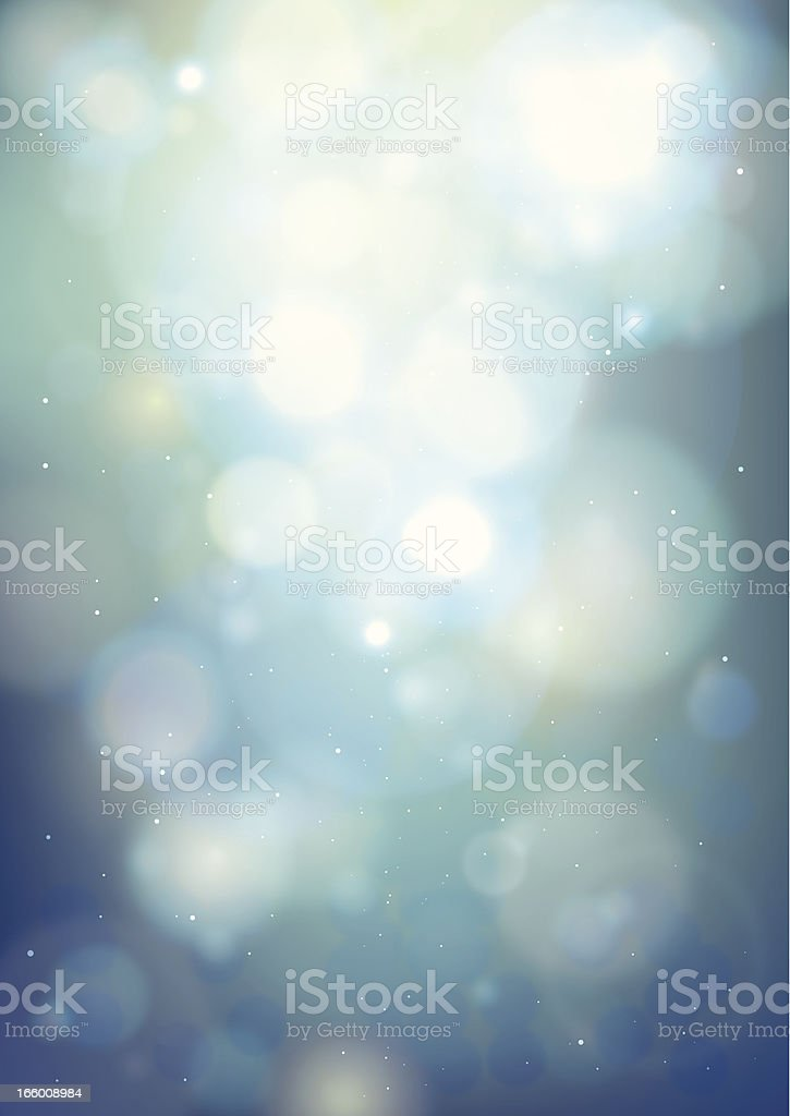 Defocused lights vector art illustration