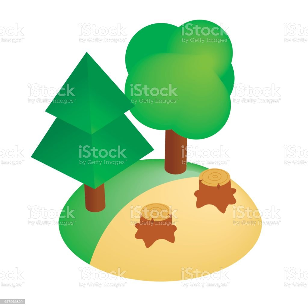 royalty free background of a deforestation clip art vector images rh istockphoto com Pollution Clip Art Deforestation Killing Animals