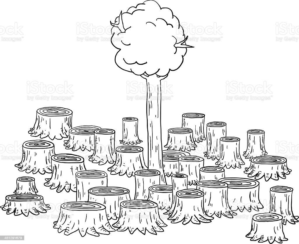 Deforestation Illustration Gm451291679 24712296 on 451291679