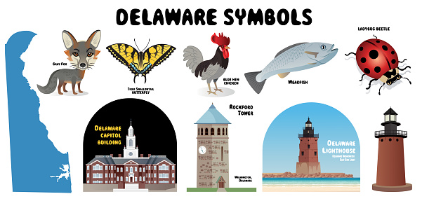 Delaware Symbols