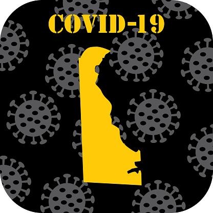 COVID-19 Deleware Icon