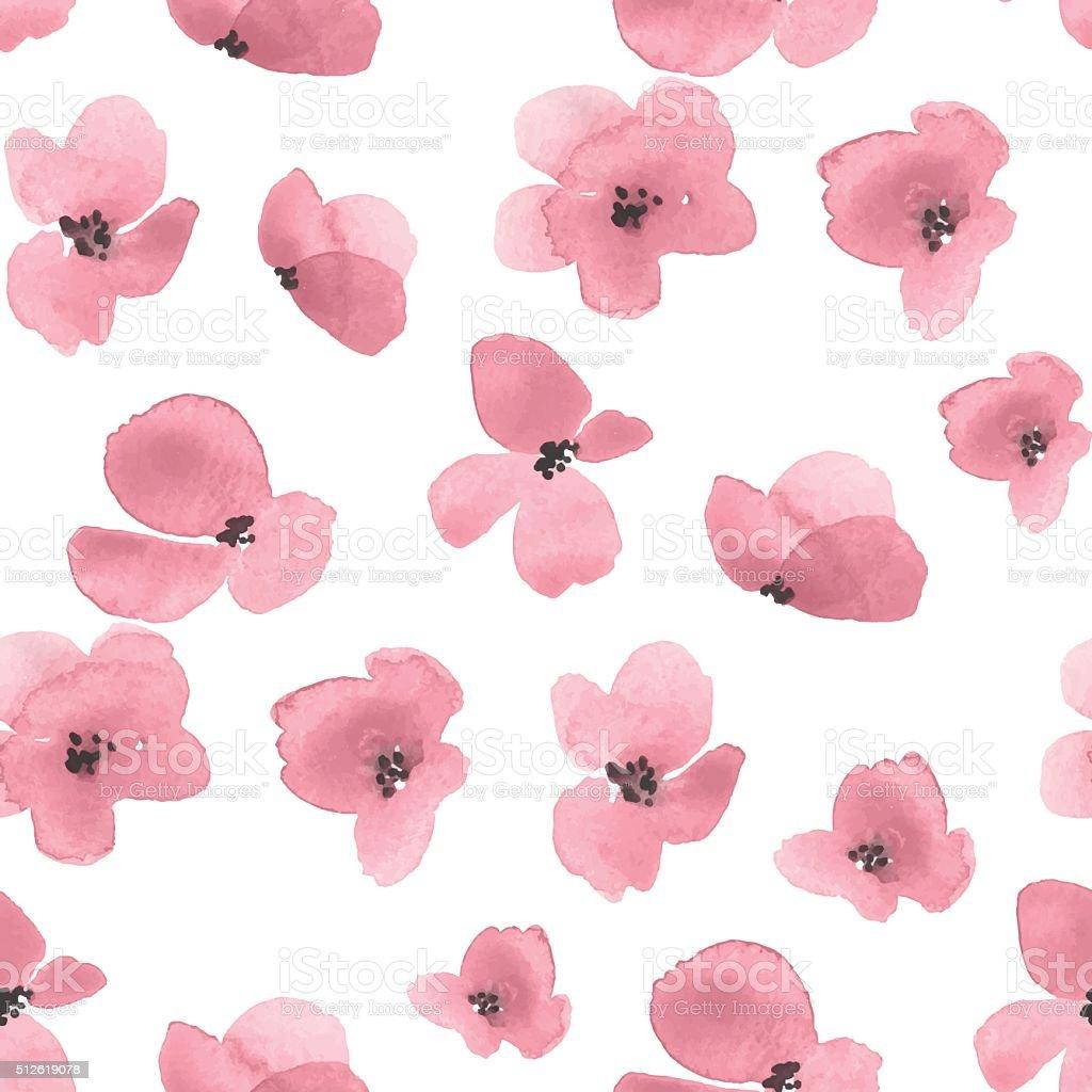 繊細な花の背景のベクトル 2 のイラスト素材 512619078   istock