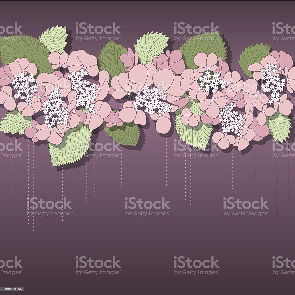 Delicate floral background with pink flowers royalty-free delicate floral background with pink flowers stock vector art & more images of abstract