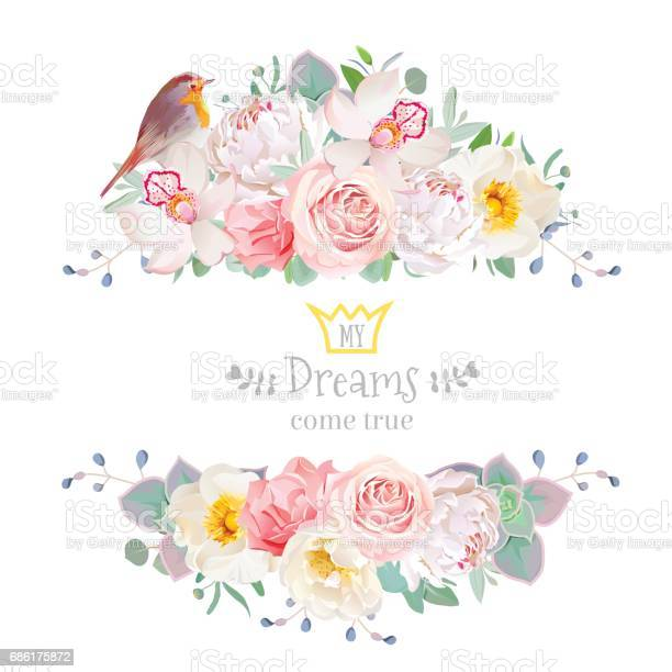 Delicate flowers and robin bird vector frame isolated on white vector id686175872?b=1&k=6&m=686175872&s=612x612&h=xea m8naotio222doz67fhwfyfdhsam9qdgkmaedqy0=