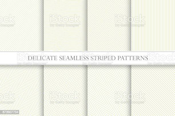 Delicate seamless striped patterns fabric textures tileable swatches vector id873907734?b=1&k=6&m=873907734&s=612x612&h=wlvc90nrrgrtenk8k6r9zypvk59qjc5ba5riyfpy1ik=