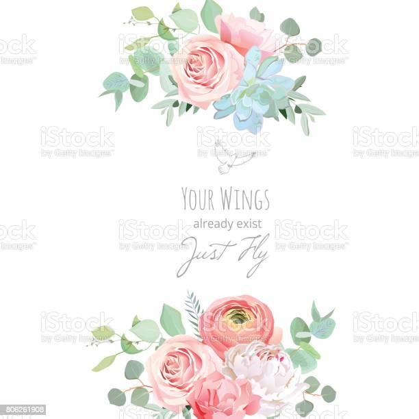 Delicate wedding floral vector design card vector id806261908?b=1&k=6&m=806261908&s=612x612&h=jsynzveda w ramaipg pattusonpwndd0qume6ps4o=