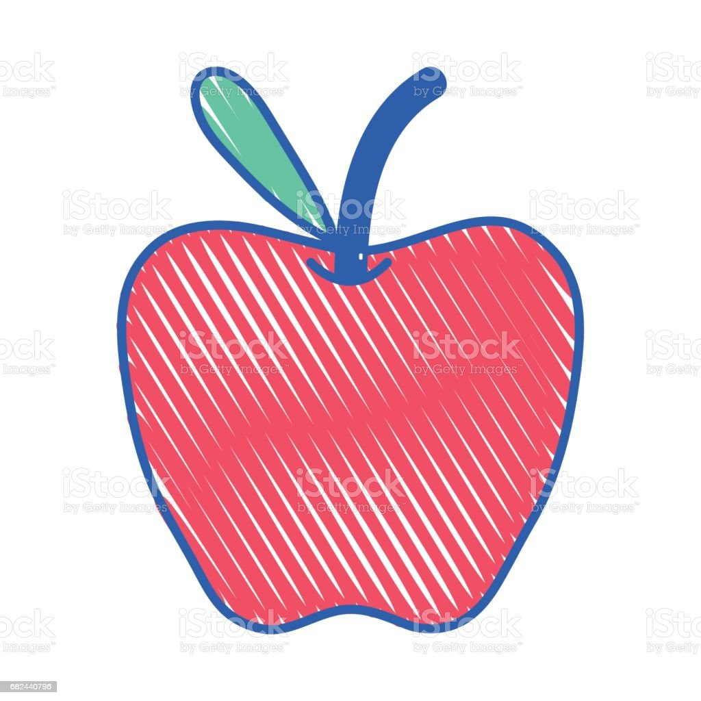 fruit de pommes avec feuilles fruit de pommes avec feuilles – cliparts vectoriels et plus d'images de agriculture libre de droits