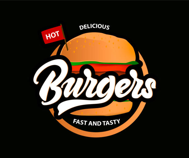 Free Burger Logo Vector Art
