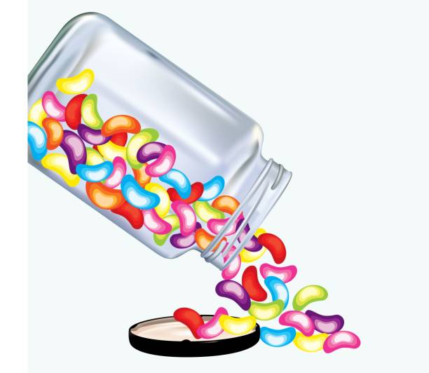 Image result for clip art jelly beans | Jelly beans ... |Jelly Bean Jar Clipart