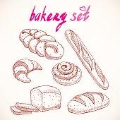 delicious sketch pastries