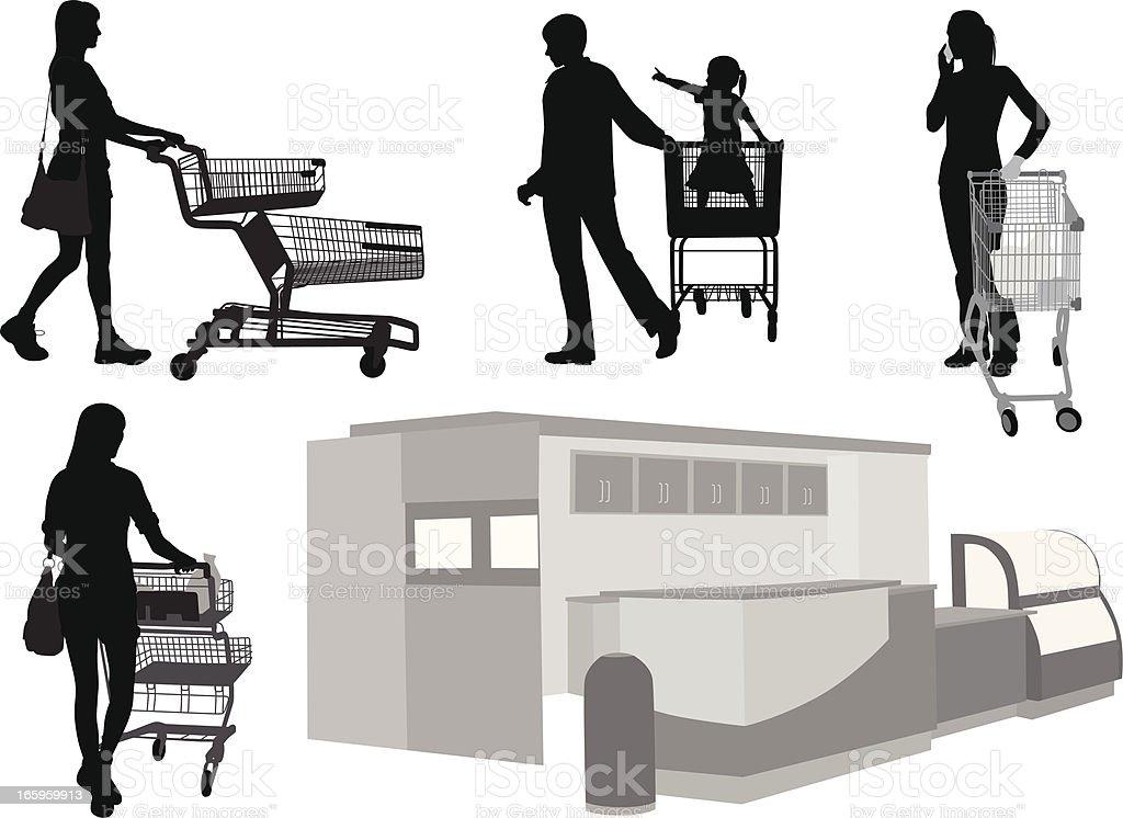 Deli'nGroceries – Vektorgrafik