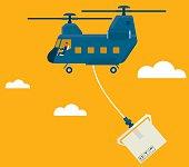 Deliver. illustrator 10 eps file