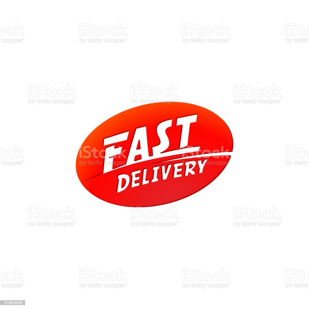 Delivery And Shipping Logo Vector Fast Delivery Sign Fast ...