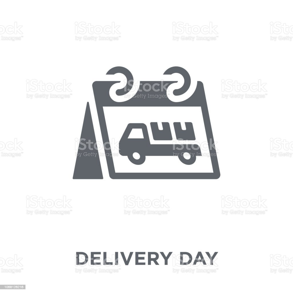 Delivery day icon from Delivery and logistic collection. vector art illustration