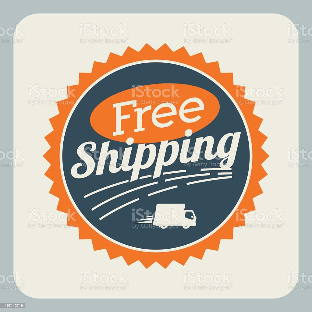 Delivery design vector art illustration