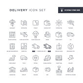 29 Delivery Icons - Editable Stroke - Easy to edit and customize - You can easily customize the stroke with