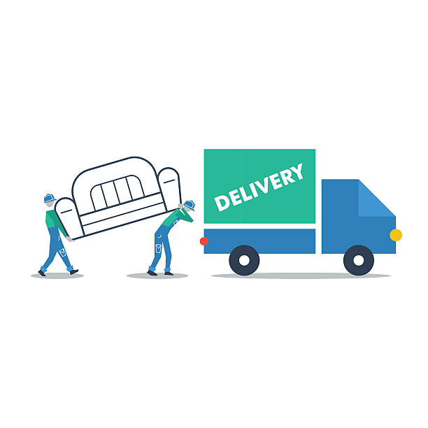 Furniture Delivered: Top Warehouse Order Picking Clip Art, Vector Graphics And