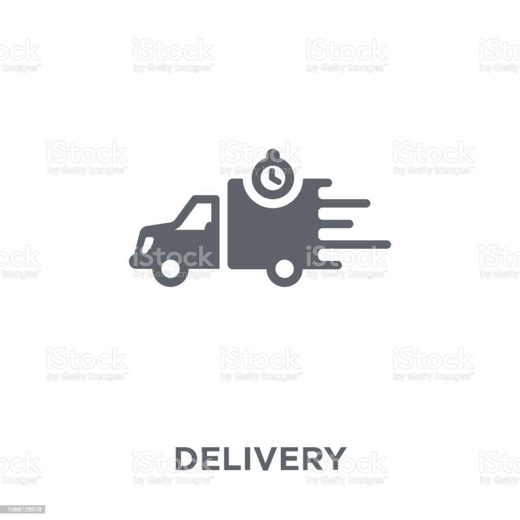 Delivery icon from Delivery and logistic collection. vector art illustration