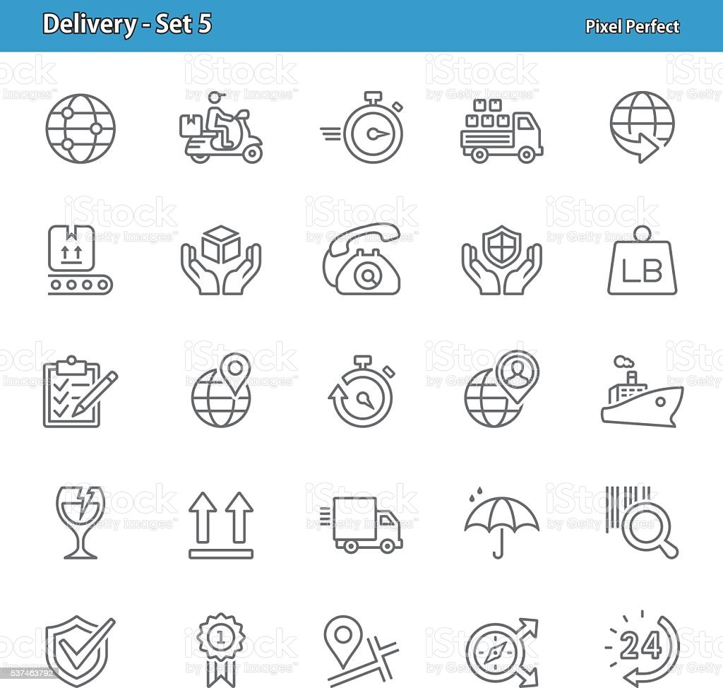 Delivery Icons - Set 5
