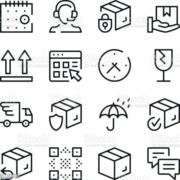Delivery line icons set modern graphic design concepts simple outline vector id680118542?b=1&k=6&m=680118542&s=612x612&h=bkwc9q4sclovzcil4ij0wclptkop4u9m3bjvxa7jxq4=