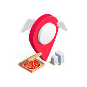 istock delivery service pizza pin buildings isometric 1211500692