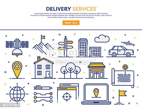 istock Delivery Services Concept 833707384