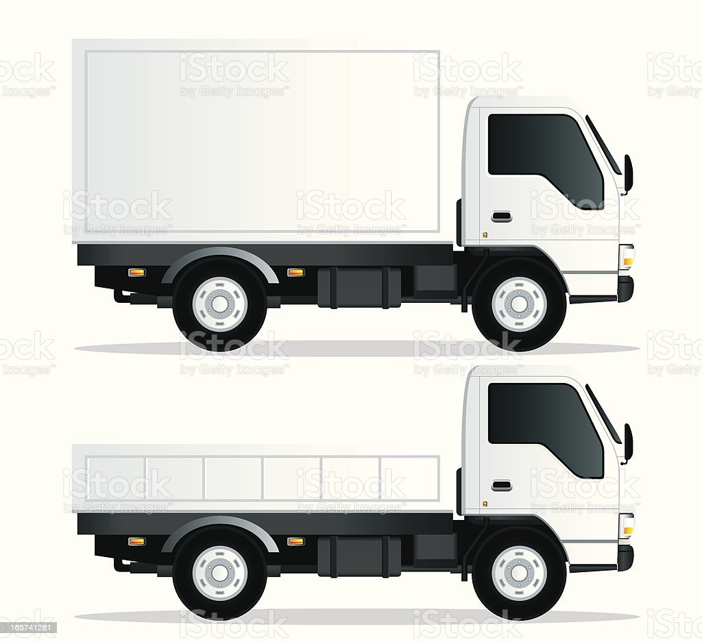 delivery truck vector - photo #8