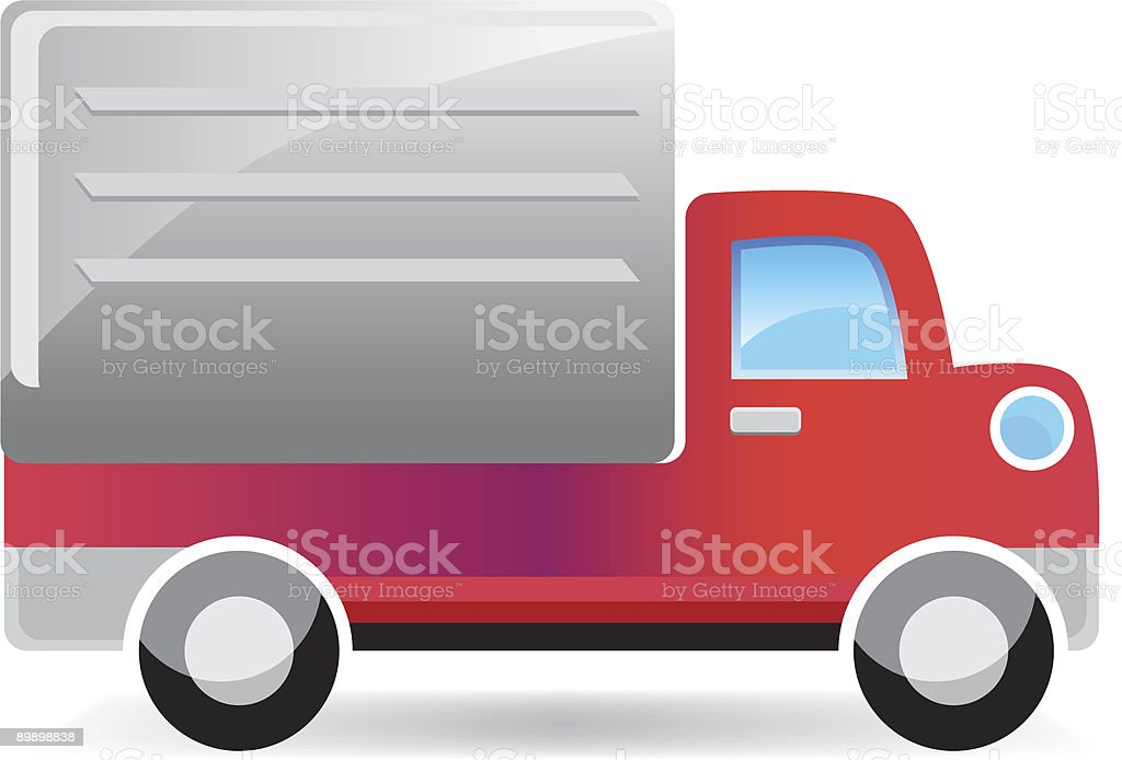 Delivery Truck royalty-free delivery truck stock vector art & more images of art
