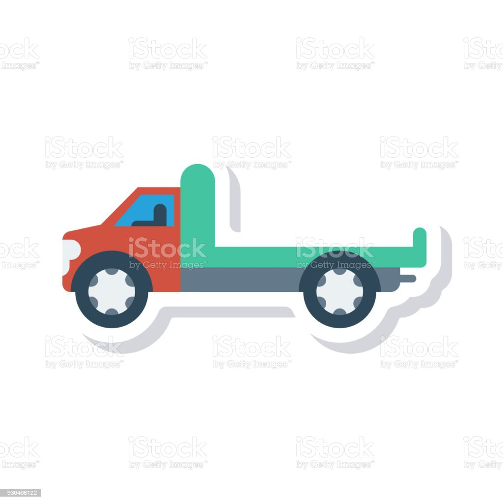 royalty free cartoon tractor pulling trailer clip art vector images rh istockphoto com tractor trailer tire clipart tractor trailer tire clipart