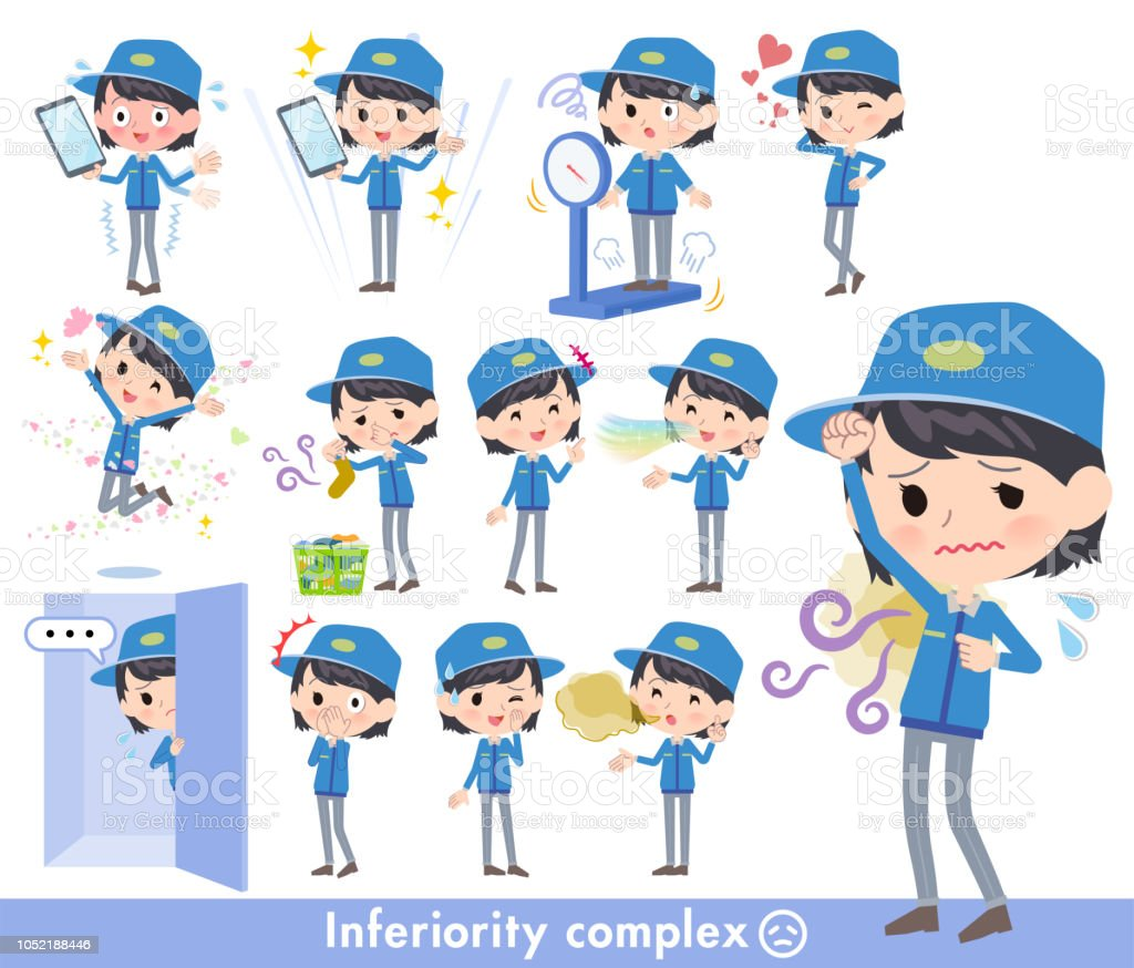 Delivery women_complex vector art illustration