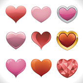 Deluxe Heart Icons