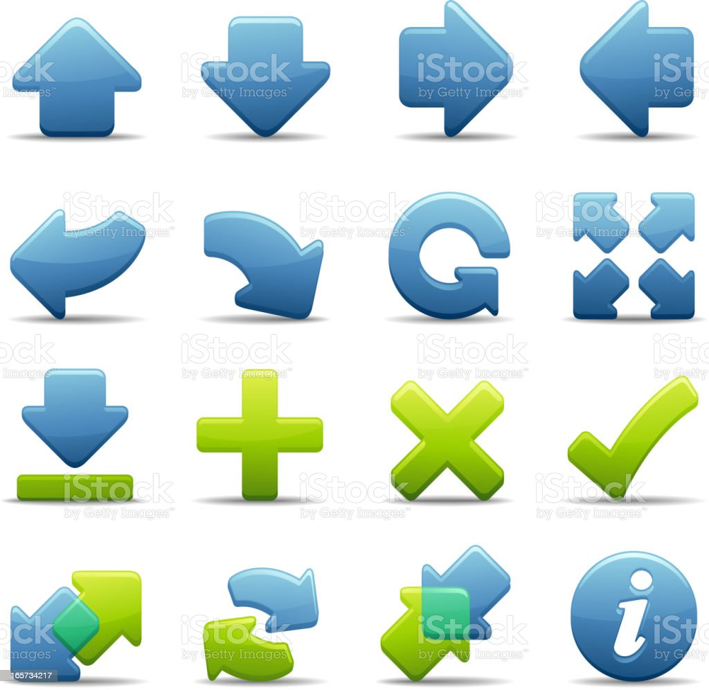 Deluxe Icons - Arrows & Navigation