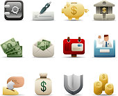 Deluxe Icons - Finance