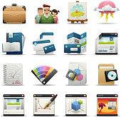 Deluxe Icons - Graphic Design