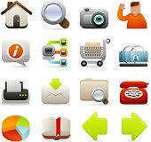 Deluxe Icons - Internet