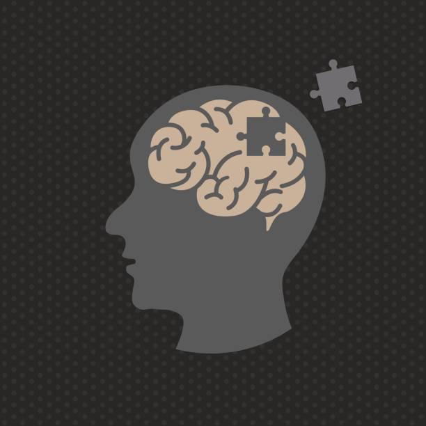 Dementia illustration vector icon icon design vector art illustration