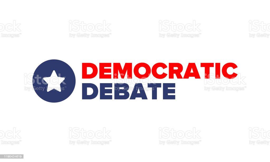 Democratic Debate Presidential Primary In United States Political