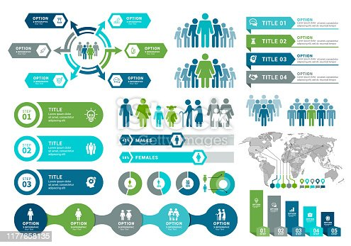istock Demographics Infographic Elements 1177858135