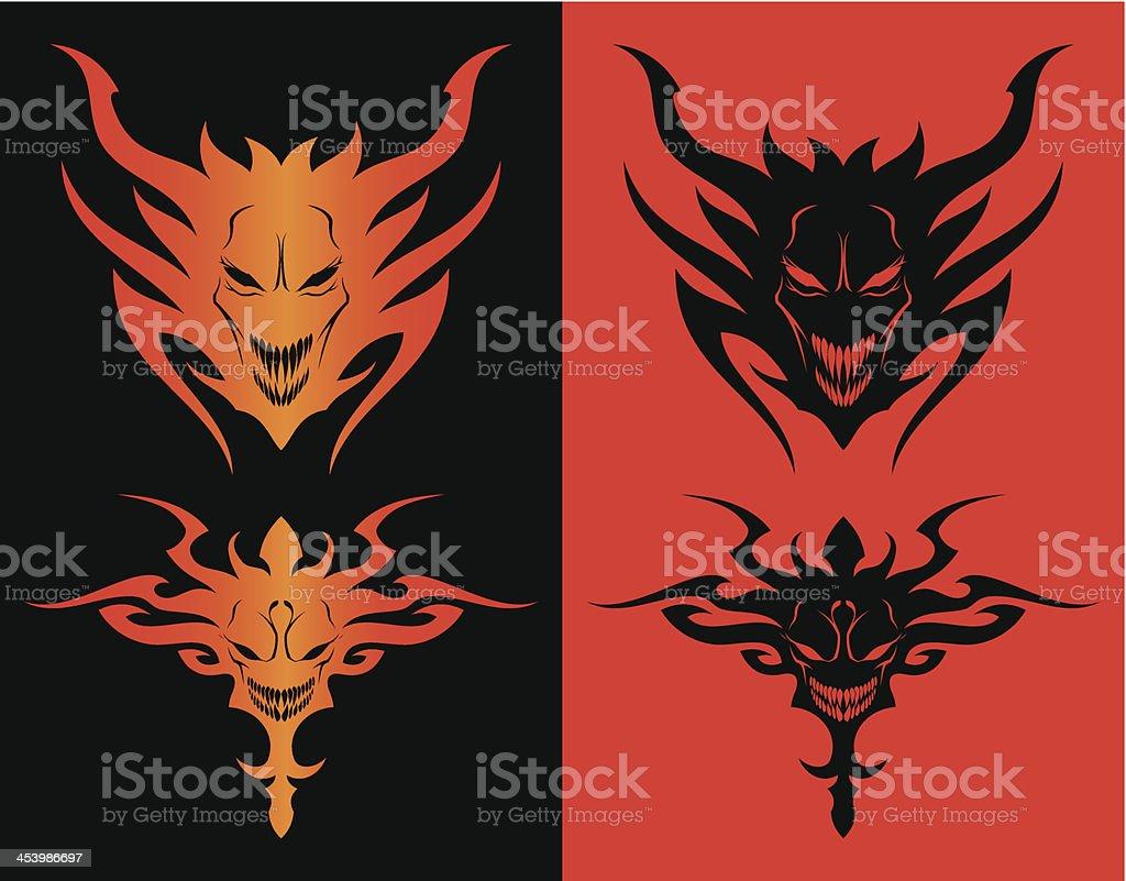 Demons royalty-free stock vector art
