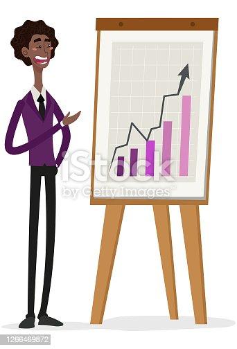 Demonstrando um grafico de investimentos com lucro