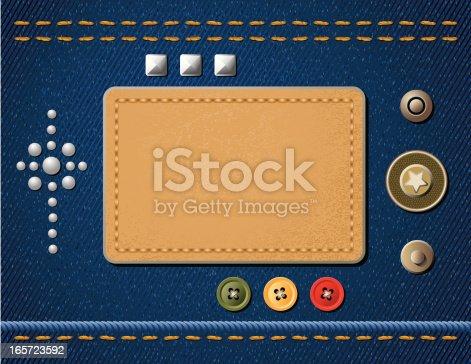 istock Denim Design Elements 165723592