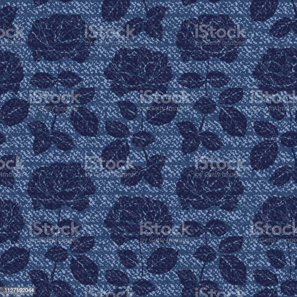 Denim floral seamless pattern vector background with hand drawn of vector id1127192044?b=1&k=6&m=1127192044&s=612x612&h=4saxxyvq50hlrhxdybf10kvlo2fqflxe i3bd3doaso=