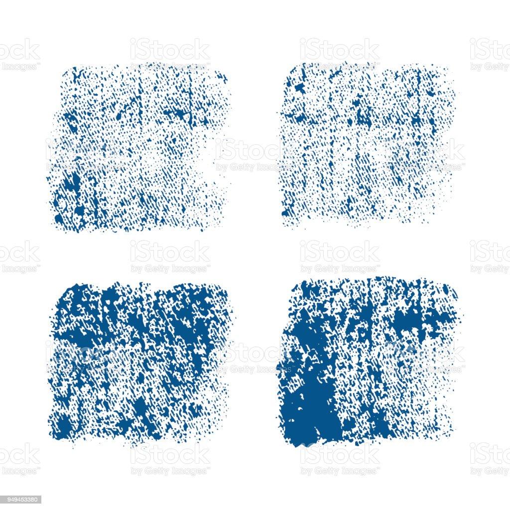 Ilustración de Impresión De La Mezclilla Textura De Vector Sobre ...