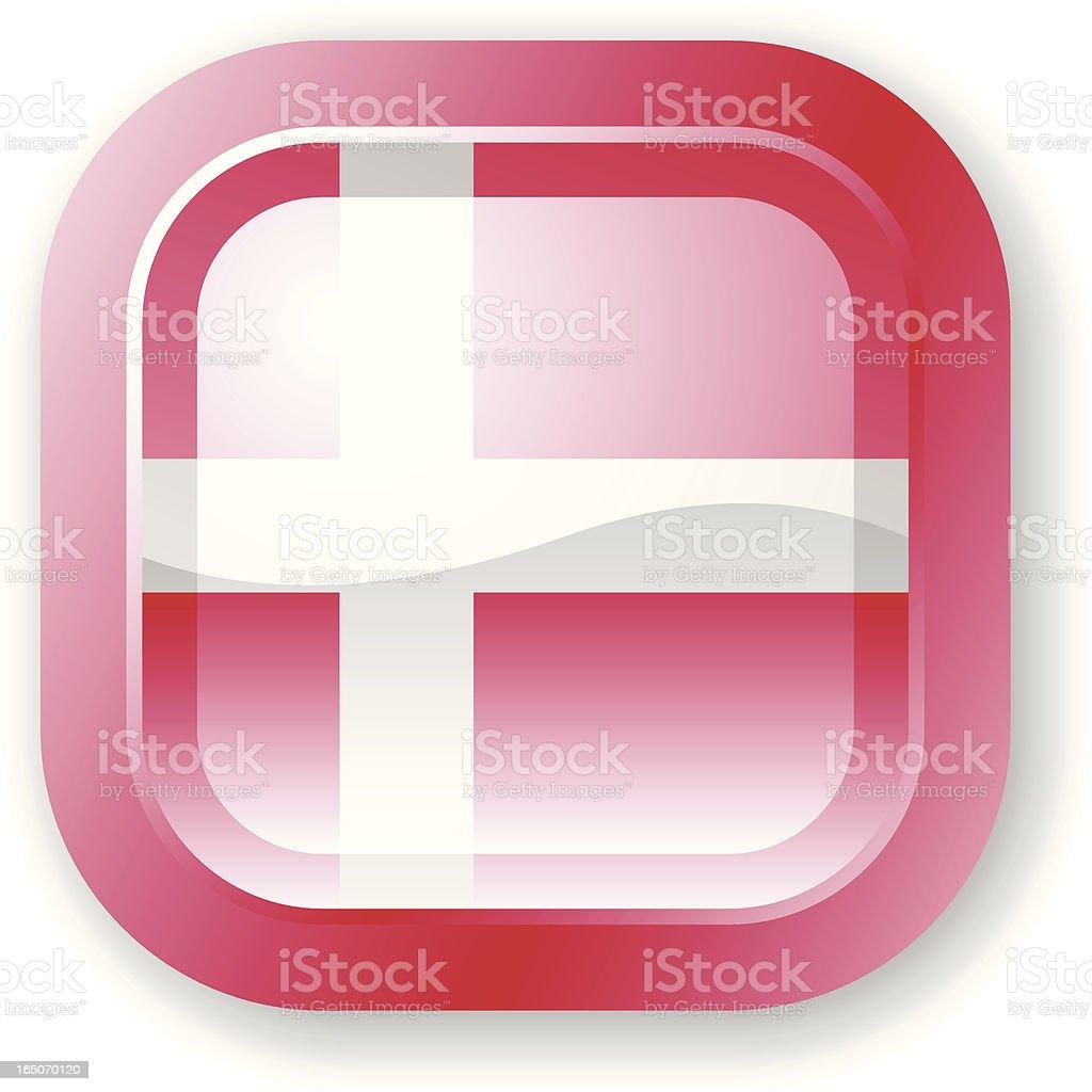 Denmark Flag Icon royalty-free denmark flag icon stock vector art & more images of clip art