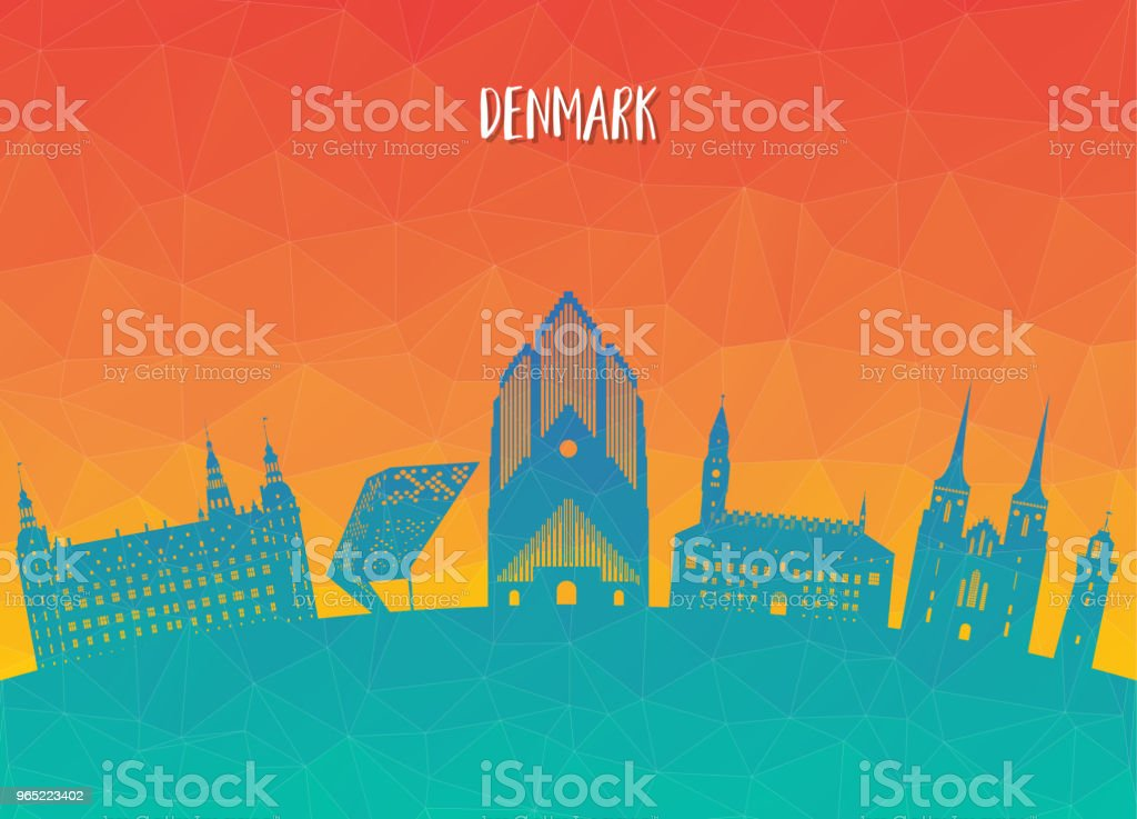 Denmark Landmark Global Travel And Journey paper background. Vector Design Template.used for your advertisement, book, banner, template, travel business or presentation. royalty-free denmark landmark global travel and journey paper background vector design templateused for your advertisement book banner template travel business or presentation stock vector art & more images of architecture