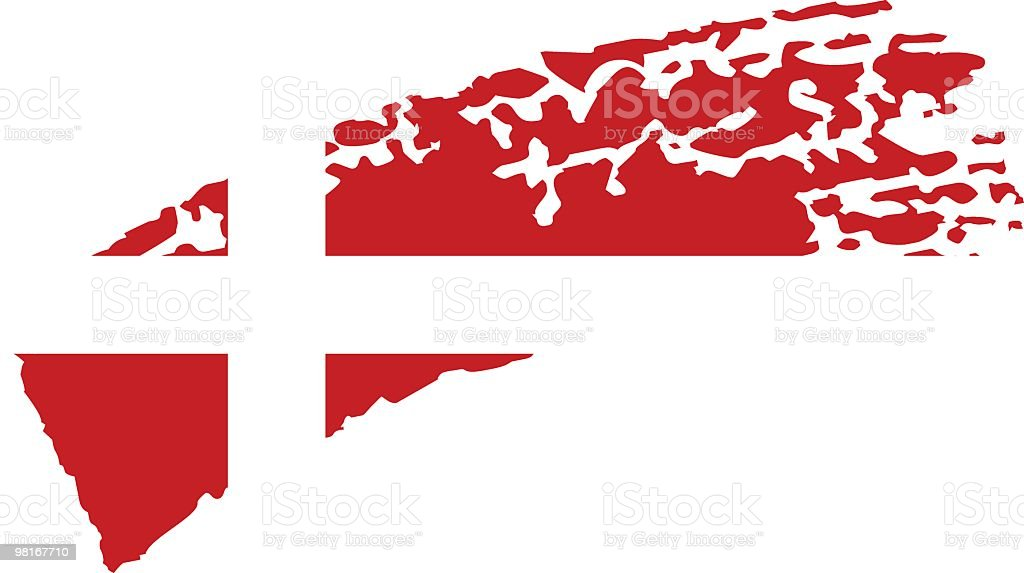 Denmark painted flag royalty-free denmark painted flag stock vector art & more images of chalk drawing