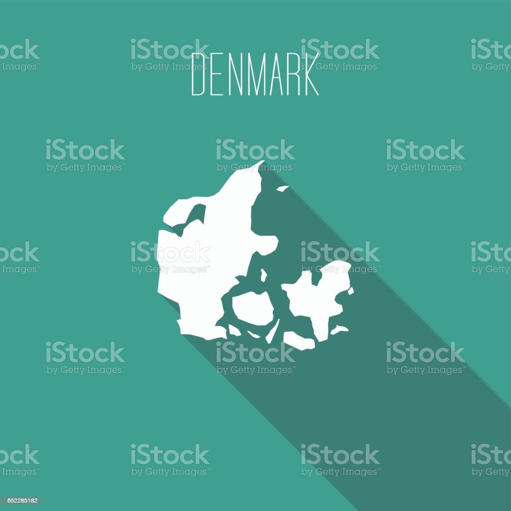 Denmark vector art illustration