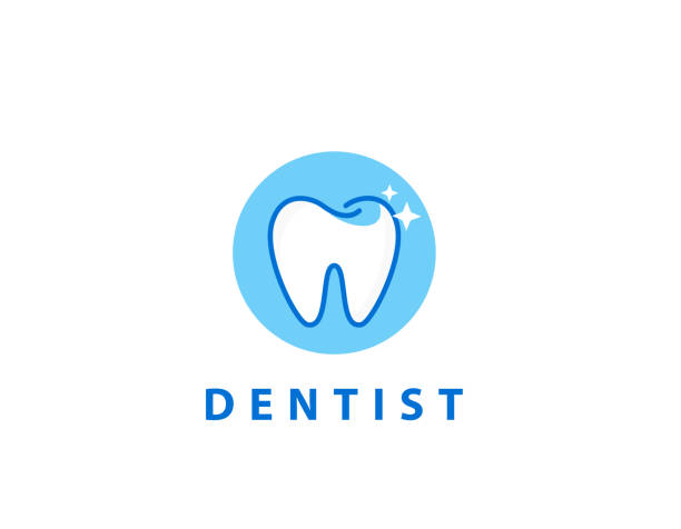 illustrazioni stock, clip art, cartoni animati e icone di tendenza di dental care icon - illustration - denti