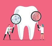 Dental clinic stock illustration