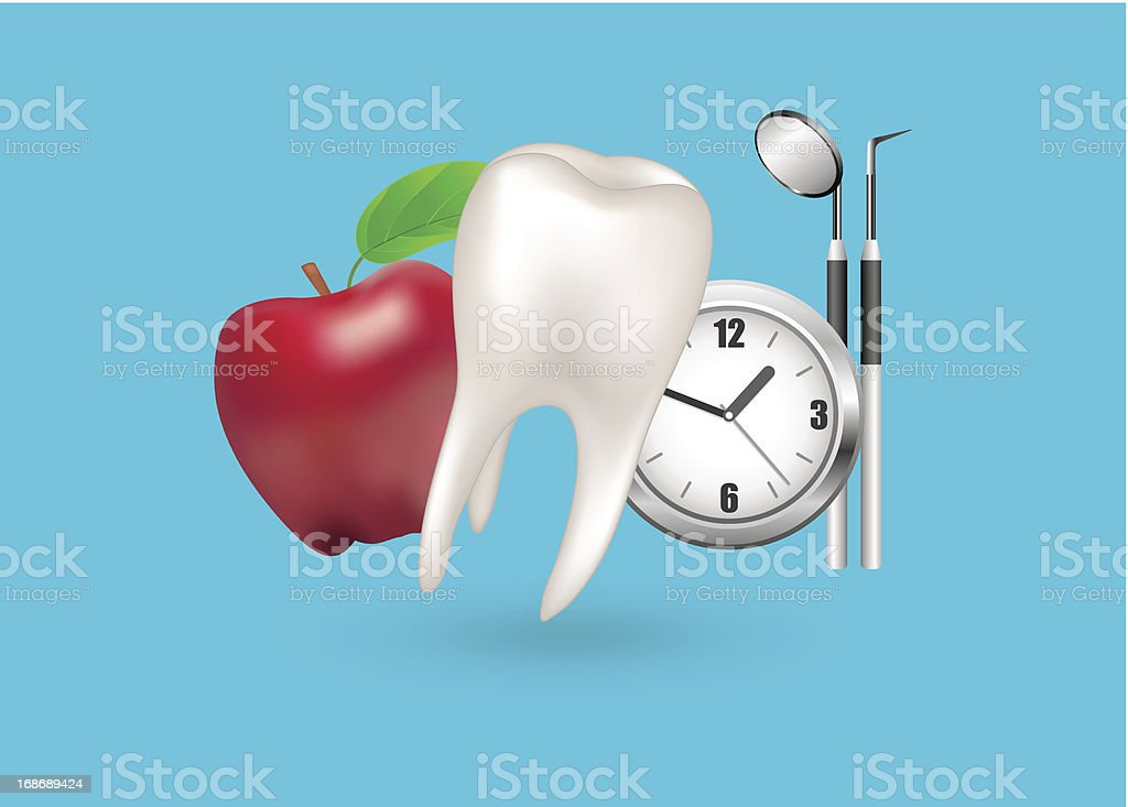 Dental Care royalty-free stock vector art